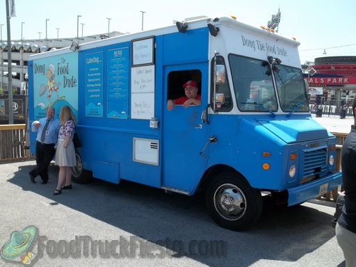 doug the food dude dc food truck food truck fiesta a. Black Bedroom Furniture Sets. Home Design Ideas