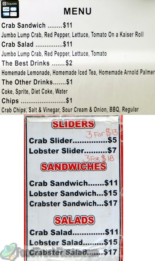 feelin crabby menu_s