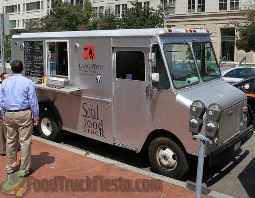 Langston Grille On Wheels Dc Food Truck Food Truck Fiesta A Real