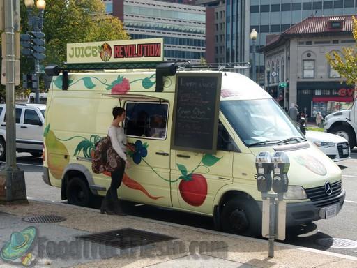 Juice Revolution Dc Food Truck Juice Food Truck Fiesta A Real