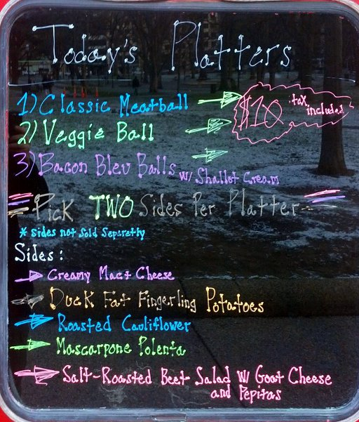 Ball or Nothing menu