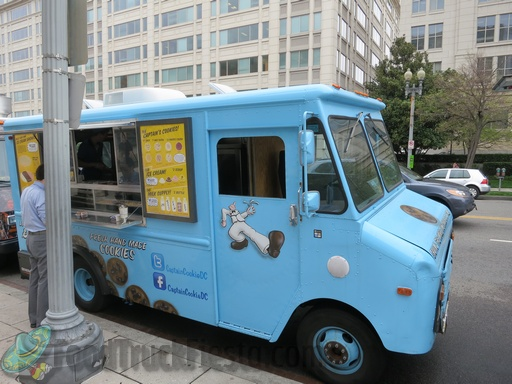 captain cookie truck
