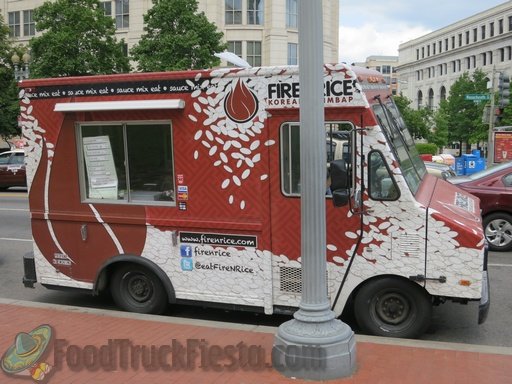 Fire Rice Dc Food Truck Food Truck Fiesta A Real Time