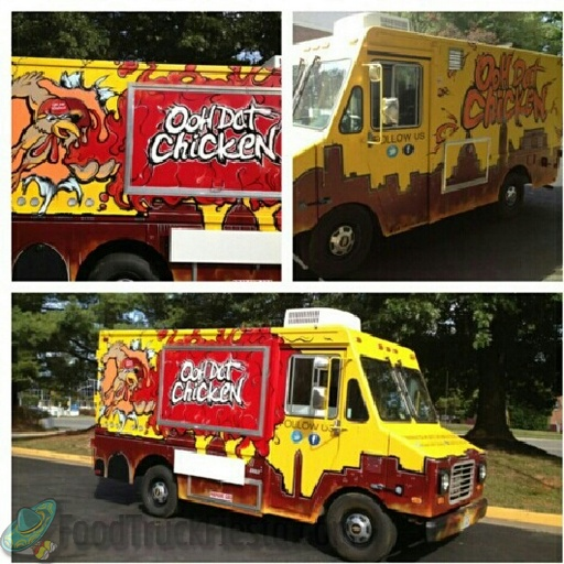 Ooh Dat Chicken Dc Food Truck Food Truck Fiesta A Real Time
