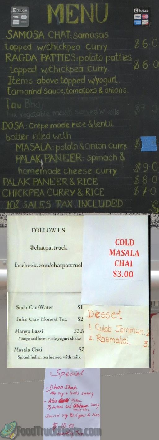 chatpat menu