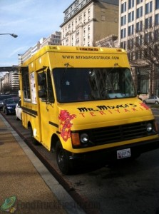 Mr. Miyagi's Teriyaki DC food truck