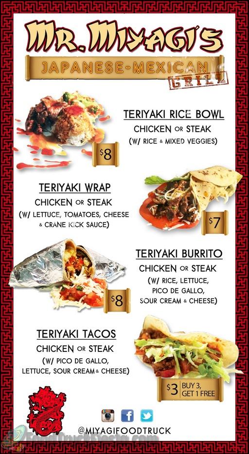 Mr Miyagis Teriyaki Dc Food Truck Food Truck Fiesta A Real Time