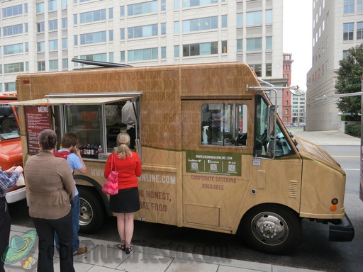 brown bag truck