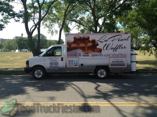 La Pearl Waffles food truck