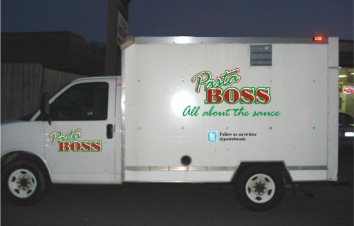 Pasta Boss DC food truck