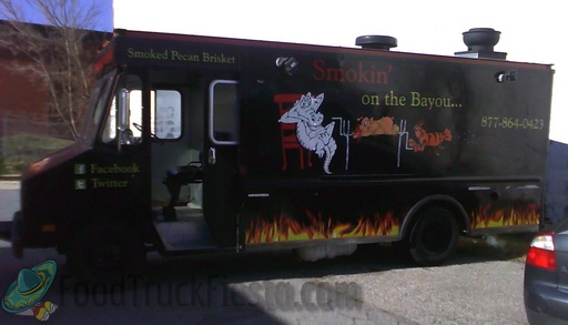 smokin' on the bayou DC food truck