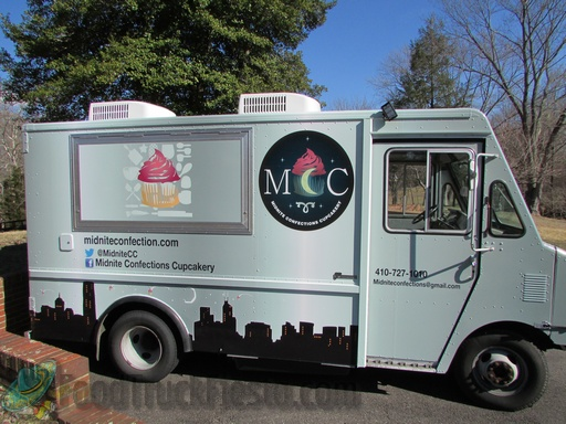 Midnite Confections Cupcakery Food Truck