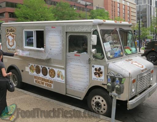 Vella Tasty Mediterranean DC food truck