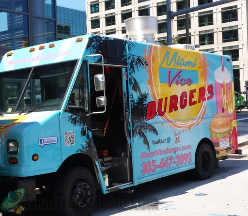 Miami Vice Burgers Dc Food Truck Food Truck Fiesta A Real Time